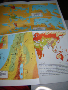 Bible Map in Urdu Supplementary map to Urdu Bible 2010 [Paperback]