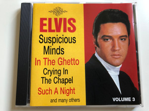Elvis - Suspicious Minds, In The Ghetto, Crying In The Chapel, Such A Night, and many others / Volume 3 / RCA Audio CD Stereo / 36 431 5