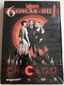 Chicago Musical DVD 2002 / Directed by Rob Marshall / Starring: Renée Zellweger, Catherine Zeta-Jones, Richard Gere, Queen Latifah (5999881066692)