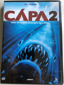 Jaws 2 DVD 1978 Cápa 2 / Directed by Jeannot Szwarc / Starring: Roy Scheider, Lorraine Gary, Murray Hamilton (5999544253384)