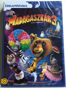Madagascar 3: Europe's Most Wanted DVD 2012 Madagaszkár 3 / Directed by Eric Darnell, Conrad Vernon, Tom McGrath / Starring: Ben Stiller, Chris Rock, David Schwimmer, Jada Pinkett Smith (5996255739275)