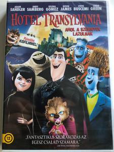 Hotel Transylvania DVD 2012 Ahol a szörnyek lazulnak / Directed by Gennady Tartakovsky / Starring: Adam Sandler, Andy Sambert, Selena Gomes, Kevin James (5996255738223)