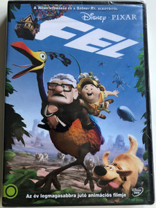 Up DVD 2009 Fel / Directed by Pete Docter / Starring: Ed Asner, Christopher Plummer, Jordan Nagai (5996514013566)
