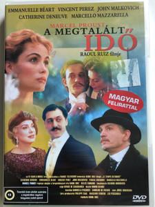 Le Temps Retrouvé DVD 1999 A megtalált Idő (Time Regained) / Directed by Raul Ruíz / Starring: Cathérine Deneuve, Emmanuelle Béart, Marcello Mazzarella, John Malkovich (5999551921221)