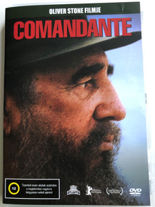 Comandante DVD 2003 / Directed by Oliver Stone / Political documentary film with Fidel Castro (5999545584975)