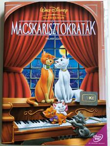 The Aristocats DVD 1970 Macsakarisztokraták / Walt Disney Classic / Directed by Wolfgang Reitherman / Starring: Phil Harris, Eva Gabor, Hermione Baddeley, Gary Dubin (5996255707274)