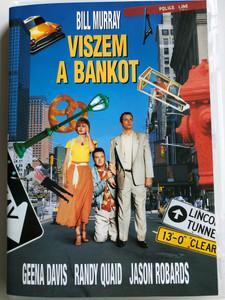 Quick Change DVD 1990 Viszem a bankot / Directed by Howard Franklin & Bill Murray / Starring: Geena Davis, Randy Quaid, Jason Robards (5999048900050)