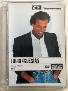Julio Iglesias - Starry Night DVD 1990 Video-clip Collection / Directed by Dwight Hemion / Columbia / Too many Women, La Paloma, Bamboleo, Pensami (886971924596)