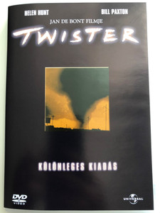 Twister DVD 1996 Különleges kiadás / Directed by Jan de Bont / Starring: Helen Hunt, Bill Paxton, Jami Gertz (5050582237849)