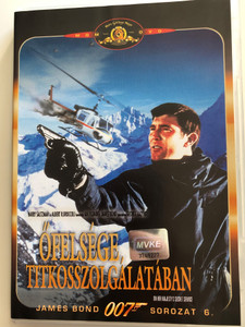 James Bond - On Her Majesty's Secret Service DVD 1969 Őfelsége titkosszolgálatában / Directed by Peter Hunt / Starring: George Lazenby, Diana Rigg, Telly Savalas, Bernard Lee (5996255704433)