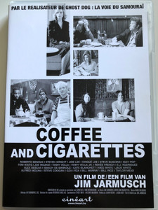 Coffee and Cigarettes DVD 2003 / Directed by Jim Jarmusch / Starring: Roberto Benigni,Steven Wright, Joie Lee, Cinqué Lee, Steve Buscemi, Iggy Pop, Tom Waits / (5413356682908)