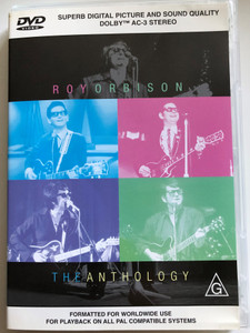Roy Orbison DVD 2000 The Anthology / Oh, pretty Woman, Crying, Walk on, In Dreams, You got it / Directed by / Massive Recording Co. (9318273229389)