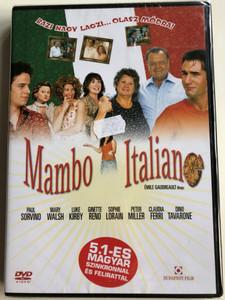 Mambo Italiano DVD 2003 Bazi nagy lagzi... olasz módra / Directed by Émile Gaudreault / Starring: Paul Sorvino, Mary Walsh, Luke Kirby, Ginette Reno (5999551920521)