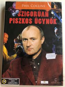 Frauds DVD 1993 Szigorúan Piszkos Ügynök / Directed by Stephan Elliott / Starring: Phil Collins, Hugo Weaving, Josephine Byrnes (5999554701455)