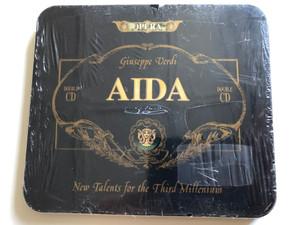 Giuseppe Verdi - Aida - Opera / New Talents For Third Millenium / Double CD / Harmony Music Audio CD 1995 / 8012719230120