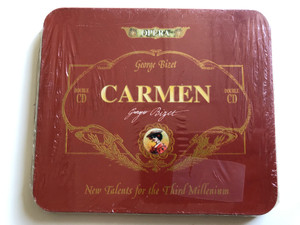 George Bizet - Carmen - Opera / New Talents For Third Millenium / Double CD / Harmony Music Audio CD 1995 / 8012719231028