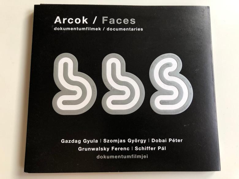 Arcok - Faces DVD Documentaries - Dokumentumfilmek / BBS / Directed by Gazdag Gyula, Szomjas György, Dobai Péter, Grunwalsky Ferenc, Schiffer Pál / BBS3 (Arcok-FacesDVD)