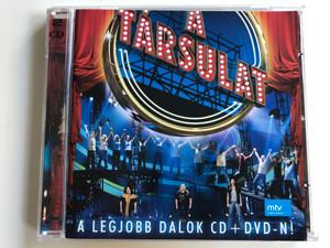 A Társulat – A Legjobb Dalok CD+DVD-n.! / Universal Music Audio CD + DVD CD2008 / 1776422