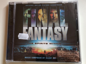 Final Fantasy: The Spirits Within (Original Motion Picture Soundtrack) / Music By Elliot Goldenthal ‎/ Sony Classical Audio CD 2001 / SK 89697