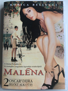 Maléna DVD 2000 / Directed by Giuseppe Tornatore / Starring: Monica Bellucci, Giuseppe Sulfaro (5999075603184)