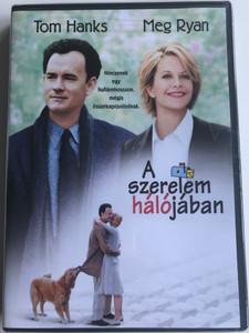 You've got mail DVD 1998 A szerelem hálójában / Directed by Nora Ephron / Starring: Tom Hanks, Meg Ryan, Dave Chappelle, Steve Zahn (5948211011062)