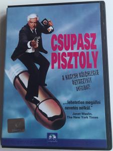 The Naked Gun - From the files of Police Squad DVD 1988 Csupasz Pisztoly - A nagyon különleges ügyosztály aktáiból / Directed by David Zucker / Starring: Leslie Nielsen, Priscilla Presley (5996217420678)