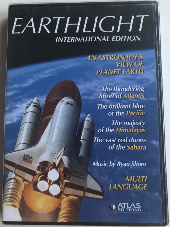 Earthlight - Internation edition DVD 2007 An astronaut's view of planet Earth / 28 digital Nasa Earthviews / Multi-language - Polish, Hungarian, French, English, German, Russian, Romanian, Dutch, Czech, Swedish / Atlas editions (B01I05SLV6 )