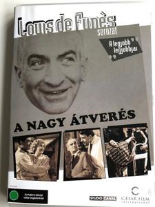 Pouic-Pouic DVD 1963 A nagy átverés / Directed by Jean Girault / Starring: Louis de funés, Mireille Darc, Philippe Nicaud (5999544702646)
