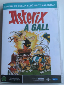 Astérix le gaulois DVD 1967 Astérix a Gall / Directed by Albert Uderzo, René Goscinny / Voices: Lee Payant, Roger Carel / Asterix the Gaul Classic cartoon (5998133179432)