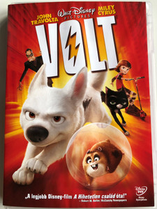 Bolt DVD 2008 Volt / Directed by Chris Williams, Byron Howard / Starring: John Travolta, Miley Cyrus (5996255729337)