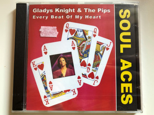 Gladys Knight & The Pips ‎– Every Beat Of My Heart - Soul Aces / Dressed To Kill ‎Audio CD / METRO233