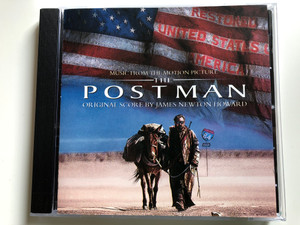 Music From The Motion Picture - The Postman / Original Score By James Newton Howard / Warner Bros. Records Audio CD 1997 / 9362-46842-2