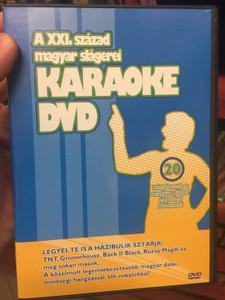 A XXI. század magyar slágerei - Karaoke DVD / Tnt, Groovehouse, Rúzsa Magdi / 20 felejthetetlen magyar sláger, egyetlen lemezen! / BHB Music DVD0003 (5999552650069)