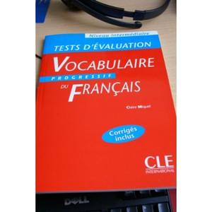Tests D'evaluation / Vocabulaire Progressif Vocabulaire Progressif - Livre