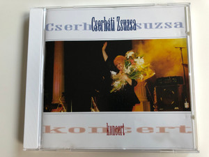 Cserháti Zsuzsa – Koncert / Warner Music Hungary Audio CD 1997 / 3984-23065-2