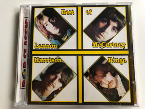 Best Of - Lennon, McCartney, Harrison, Ringo / Pop Classic / Euroton Audio CD / EUCD-0085