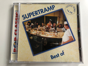 Supertramp ‎– Best Of / Pop Classic / Euroton ‎Audio CD / EUCD-0029