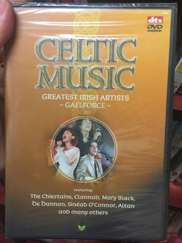 Celtic Music DVD 1997 Greatest Irish Artists - Gaelforce - Feautring The Chieftains, Sinead O'Connor, Altan / Tyrone Productions (5029365692724)