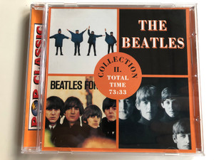 The Beatles – Collection II. / Total Time: 73:33 / Pop Classic / Euroton Audio CD / EUCD-0040