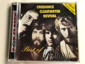 Creedence Clearwater Revival – Best Of / Total Time: 73.44 / Pop Classic / Euroton Audio CD / EUCD-0001