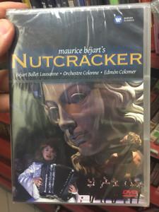 Maurice Béjart's Nutcracker DVD Béjart Ballet Lausanne / Directed by Ross Macgibbon / Orchestre Colonne - Conducted by Edmón Colomer / Warner Classics / Le Casse-Noisette - Der Nussknacker (5099921658693)