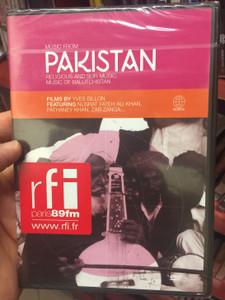 Music from Pakistan DVD 2004 Religious and sufi music - Music of Baluchistan / Films by Yves Billon, ft. Nusrat Fateh Ali Khan, Pathaney Khan, Zab Zanga (602498005156)