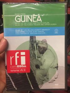 Music from Guinea DVD Music of the Coast and fouta Djalon - Music of the Forest Region and Upper Guinea / Film by Yves Billon & Robert Minangoy, featuring Kouyate Sory Kandir, Fode Marseille, Sekouba Kouyate (602498005170)