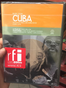 Music from Cuba DVD 2001 Azuquita and Los Jubilados Cuba son / A film by Yves Billon / Featuring Juan Gualberto Ferrer, Camilo, Azuquita, Mario Carcasses / Musique de Cuba (602498005194)