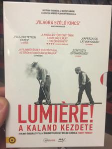 Lumière! DVD 2016 Lumiére! – A kaland kezdete / Directed by Thierry Frémaux / Starring: Auguste Lumière, Louis Lumière, Martin Scorsese (5999887816413)