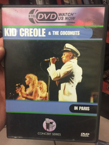 Kid Creole & the coconuts in Paris DVD Recorded at Le Zenith, Paris, September 10th 1985 / The Creole Band / Table Manners, No Fish Today, Stool Pigeon, Say Hey, Mona (057299705192)