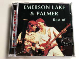 Emerson Lake & Palmer - Best Of / Total Time: 73.50 / Pop Classic / Euroton Audio CD / EUCD-0076