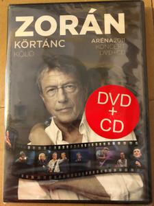 Zorán - Körtánc - Kóló DVD + CD Aréna koncert 2011 / A színfalak mögött, Csak a szerelem, Déjá vu, Idu svati, Kell ott fenn egy ország / Universal Music (602537022038)
