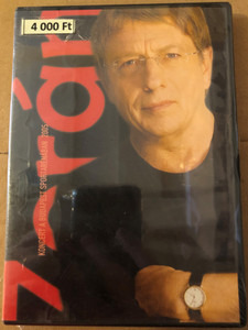 Zorán - Koncert a Budapest Sportarénában DVD 2005 / Vendégek: Somló Tamás, Gerendás Péter, Kern András / Tom-Tom Records - Universal Music 2005 (602498350591)