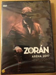 Zorán - Aréna 2017 unplugged DVD 2017 Pap László Budapest Sportaréna / Valaki mondja meg, Mondtam neked, Belehalok, Sohase higgyetek a szemeteknek, Apám hitte (602557879476)